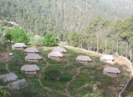 camps around mussoorie