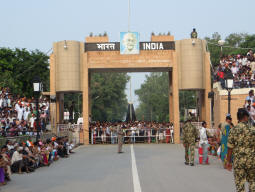 Image result for Wagah Border
